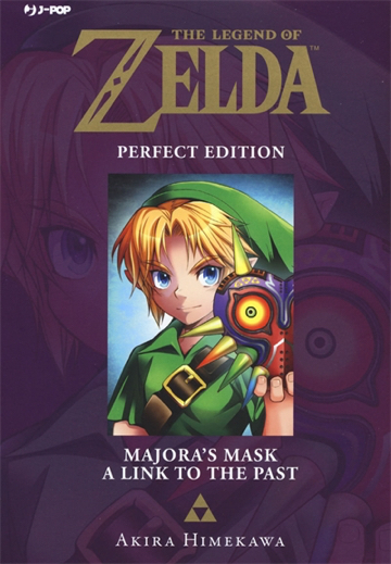 MAJORA'S MASK-A LINK TO THE PAST. THE LEGEND OF ZELDA. PERFECT EDITION. VOL. 3